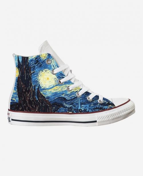 Converse Van Gogh